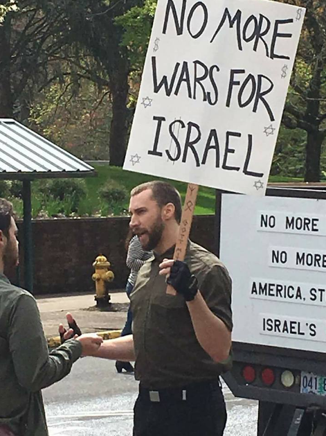 """""""Chad"""" spreading nazi propaganda with Jimmy Marr at UO in Eugene, OR on 4/20"""