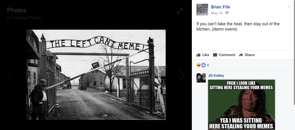 Fife's holocaust memes