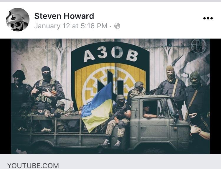 - IMAGE - Steven Shane Howard facebook