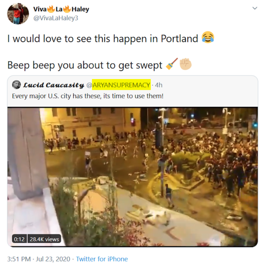 - IMAGE - haley adams retweets a nazi
