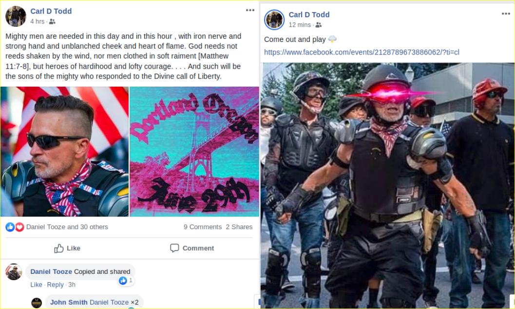 Carl Todd FB