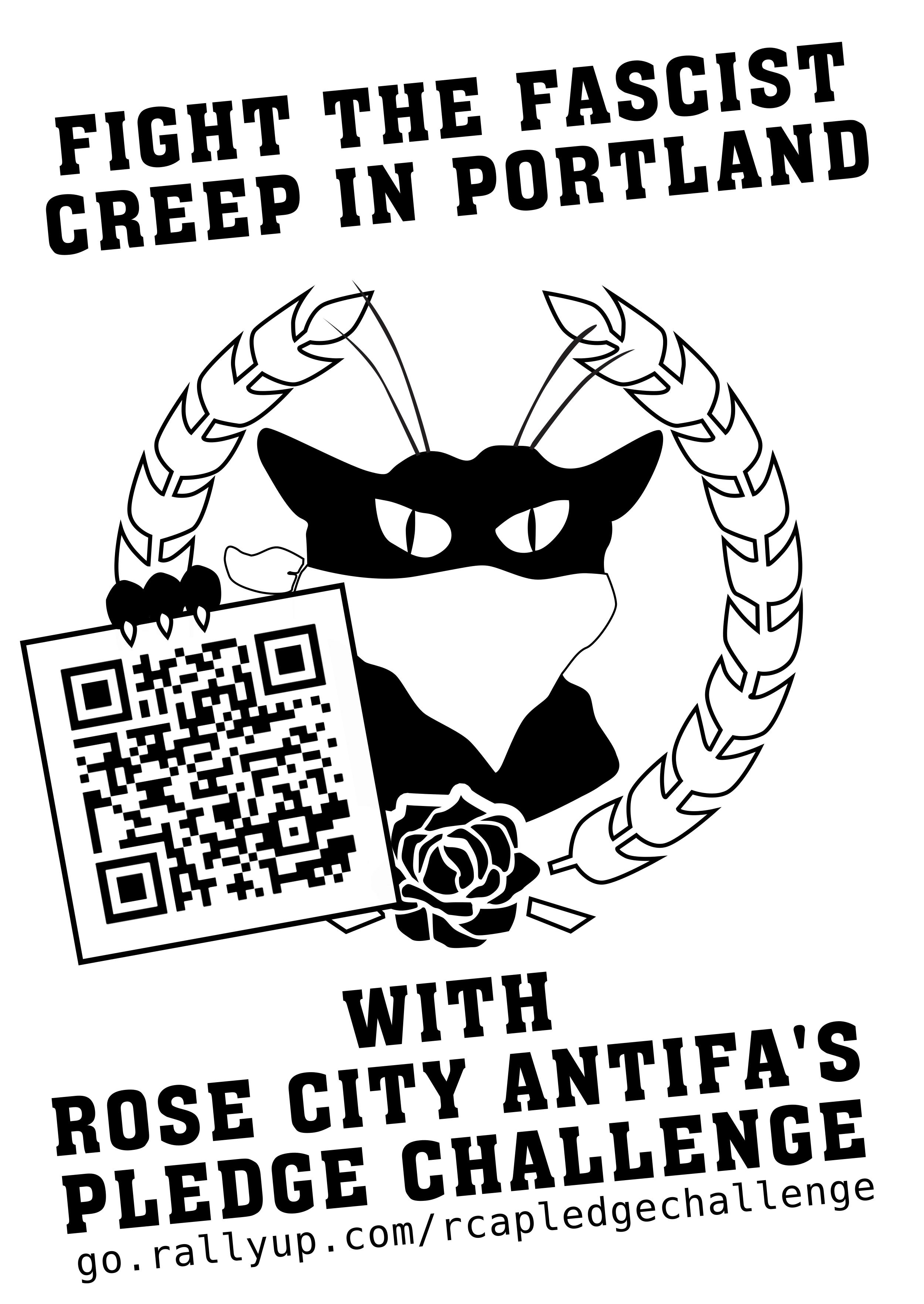 Rose City Antifa's Pledge Challenge!