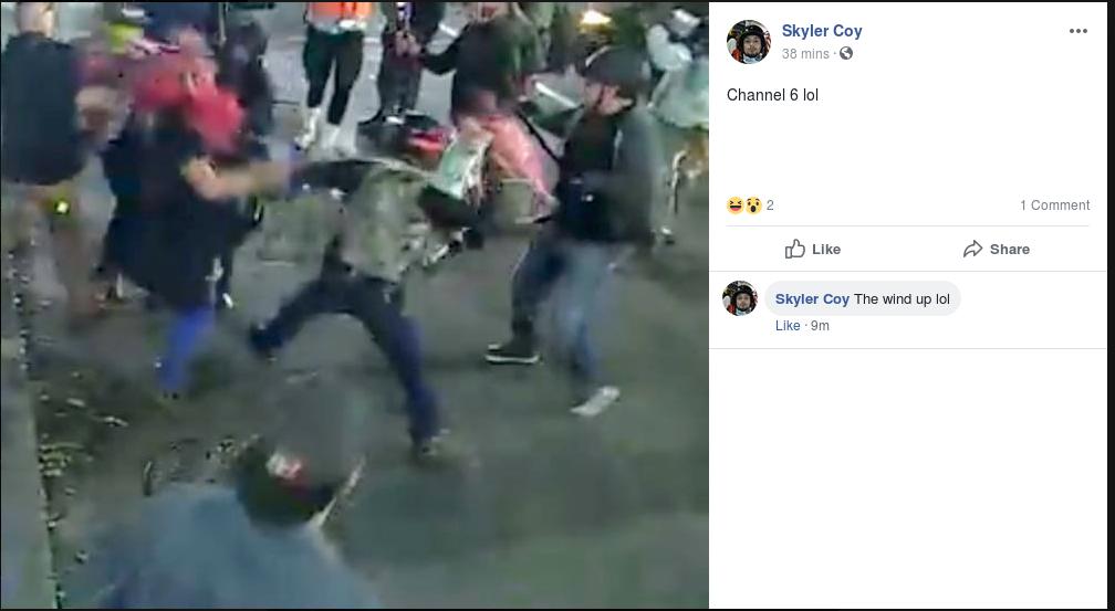 Skyler Coy fight 2