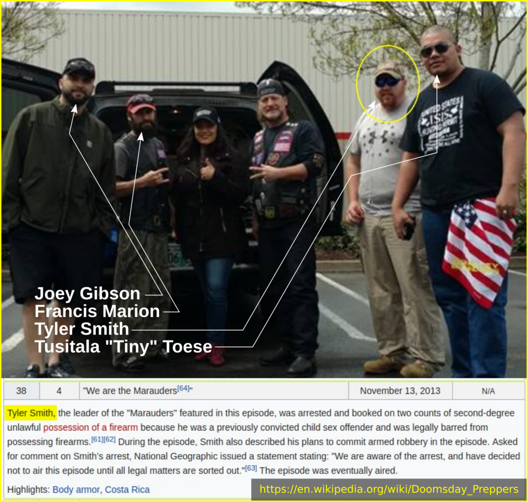 Tyler Smith with Patriot Prayer