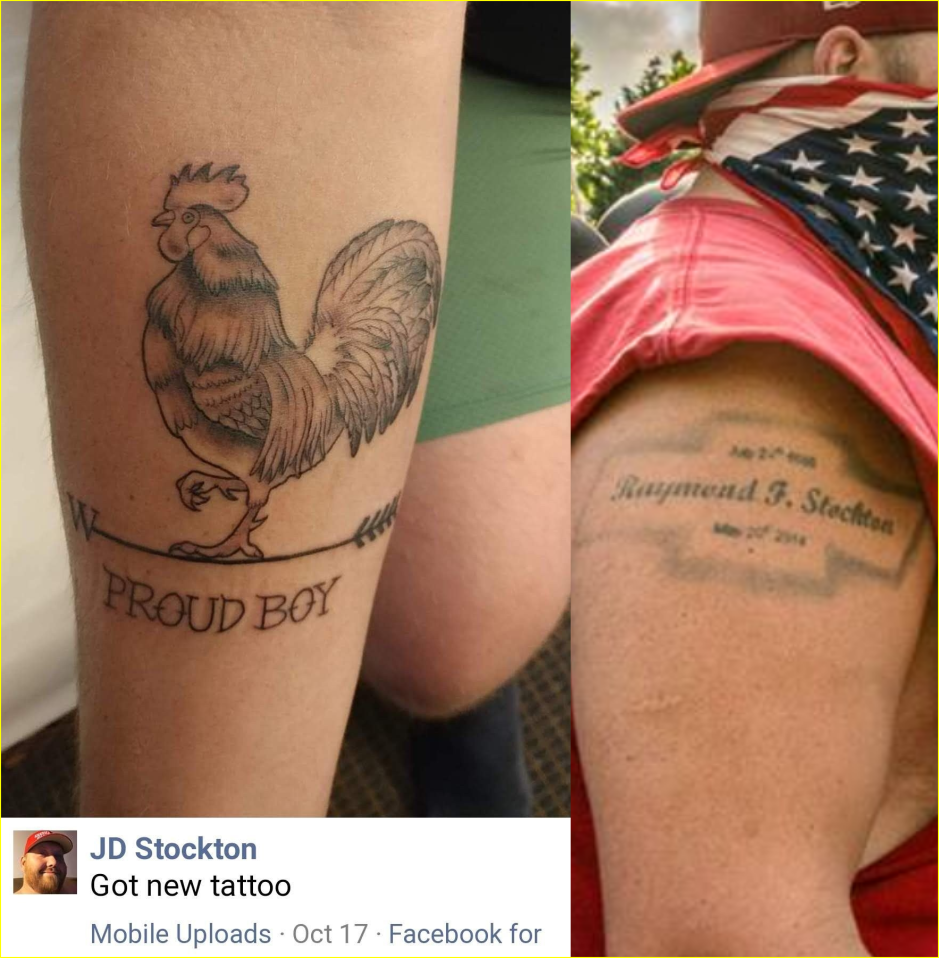 JD Stockton tattoos
