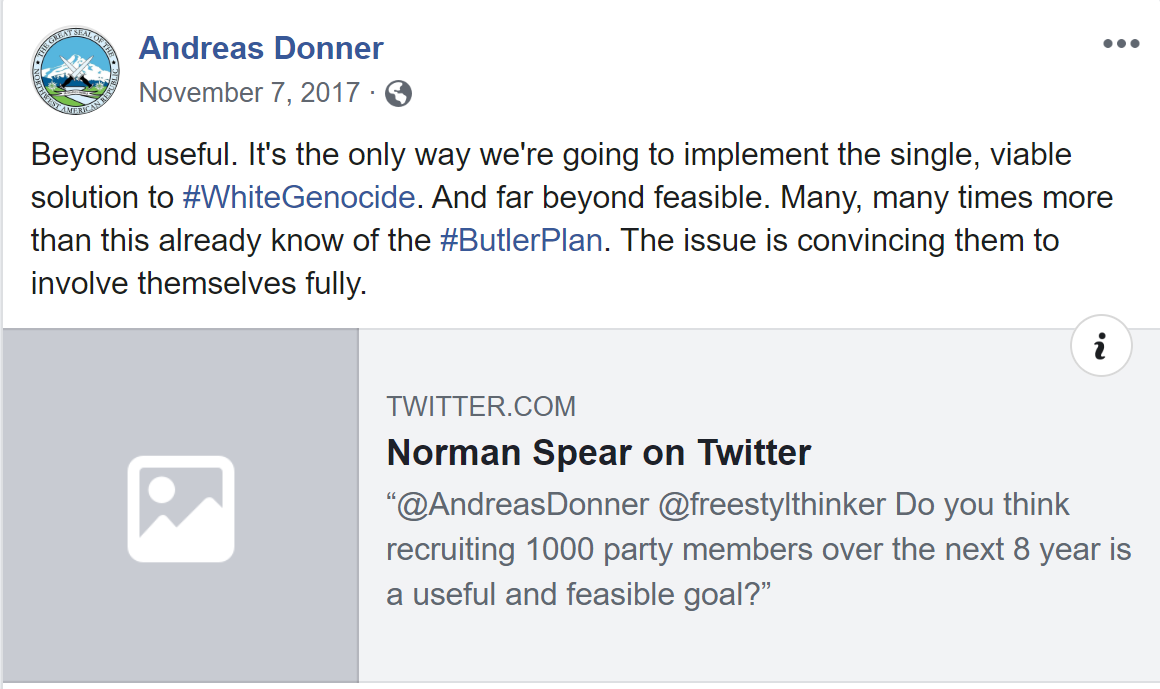 - IMAGE - Joel Flake shares Norman Spear twitter