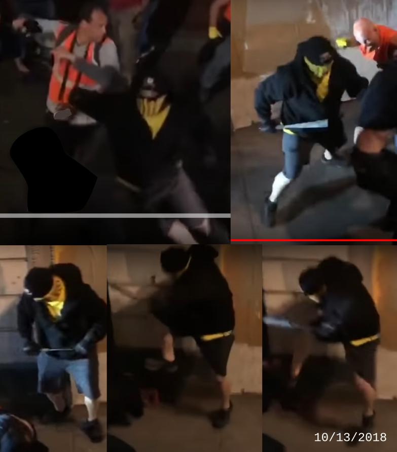 Kim Costello assaults Portland residents