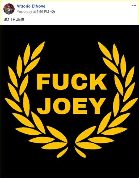 Kim Costello posts propaganda ridiculing Joey Gibson