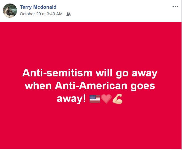 Foster is an anti-semite