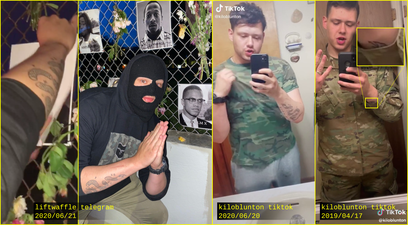 - IMAGE - Kyle Benton liftwaffle tattoo comparison