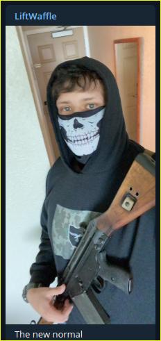 - IMAGE - neo-Nazi Kyle Benton posts a selfie