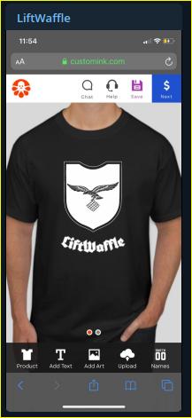 - IMAGE - Kyle Benton in promotes branded teeshirt