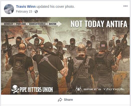 Travis Nugent celebrates Nazi murder