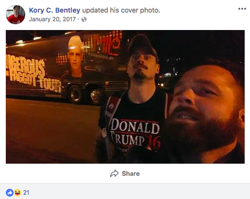 Kory Bentley legion
