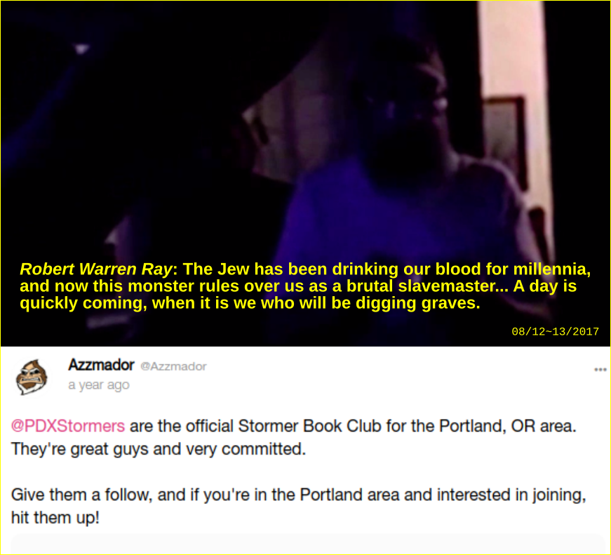 Robert Ray aka Azzmador speaks highly of the PDX stormers