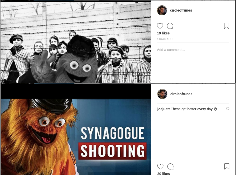 Schomaker memes about the Synagogue massacre