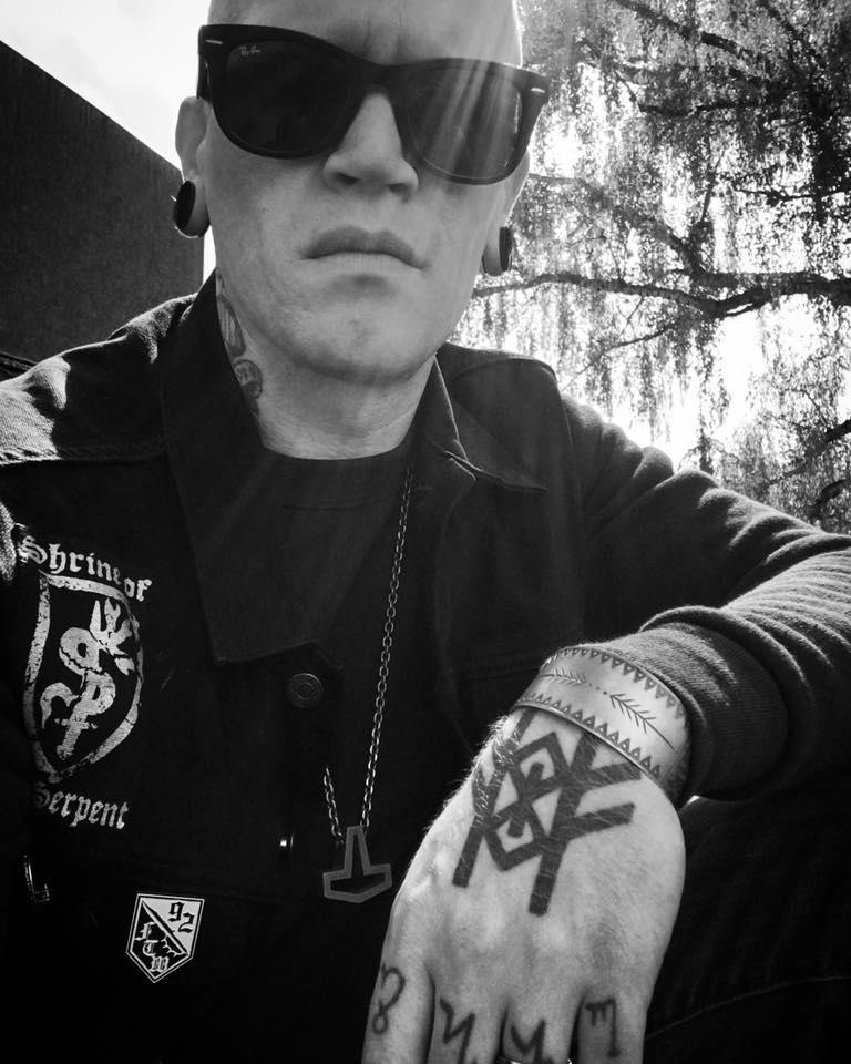 Joel Vanderzanden, pictured with 92 Operation Werewolf insignia on jacket